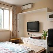 简便的卧室地台