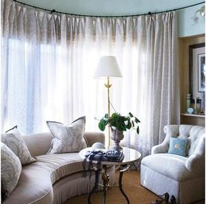 精致型窗帘装修设计