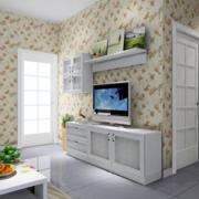 田园风格电视背景墙