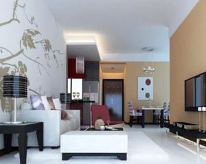60平米交换空间小户型家庭装修设计效果图