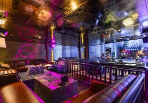 2015大户型现代都市酒吧吊顶装修效果图