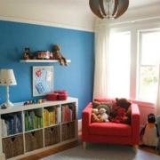 舒适的小户型卧室飘窗