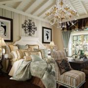 美式风格的卧室装潢