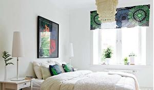 北欧小户型窗帘效果图