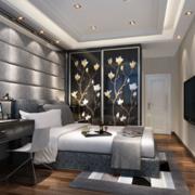 精致型单身公寓卧室