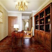 欧式风格美式书柜图片