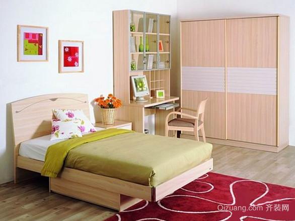 6平米卧室实木衣柜装修效果图