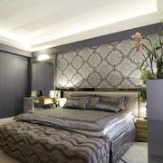 欧式风格卧室背景墙