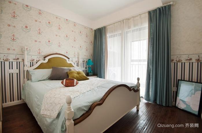 全新法式风格酒店客房卧室装修效果图
