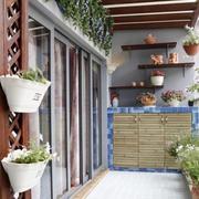 敞亮系列阳台花园装修