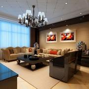 欧式风格客厅飘窗设计
