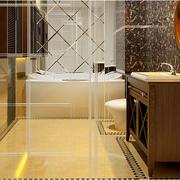浴室地板砖装修图片