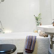 卫生间浴缸效果图