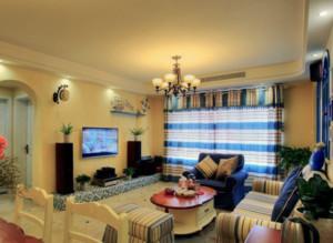 欧式小洋房奢华客厅装修效果图