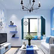 单身公寓客厅飘窗