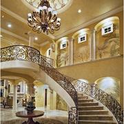 舞姿优美的欧式楼梯