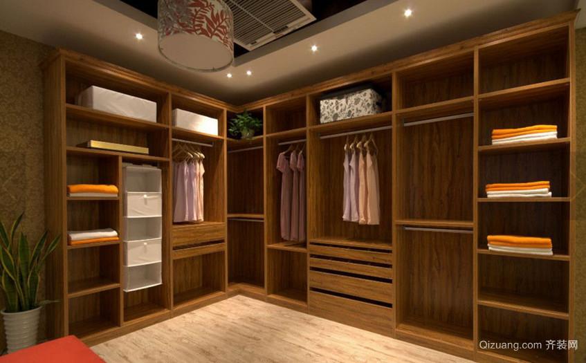 三居室中式风格衣帽间装修效果图欣赏