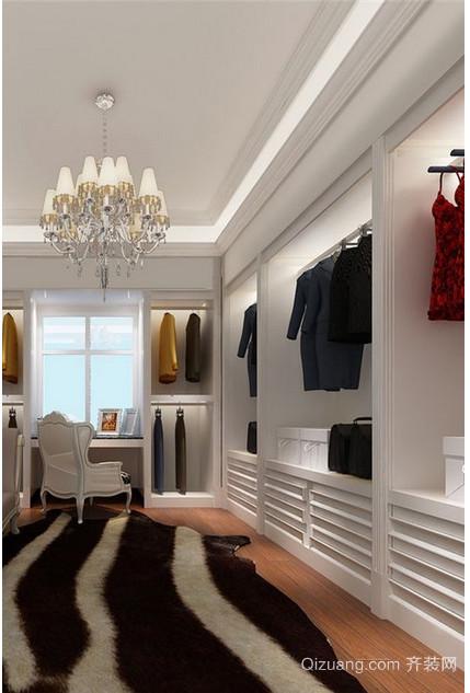 三室一厅地中海衣帽间装修效果图