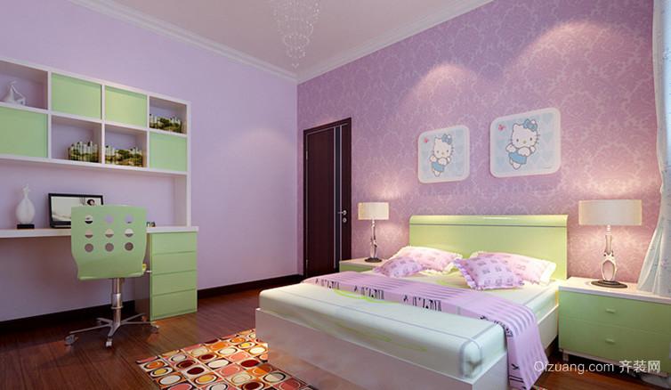 温馨可爱的精致儿童房设计装修效果图欣赏