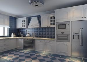 两居室地中海厨房橱柜设计鉴赏