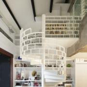 简约系列复式楼楼梯