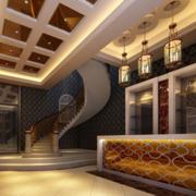 创意型别墅楼梯装修