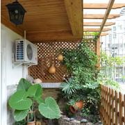 宜家风格阳台花园装修