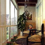 精致型阳台设计图片