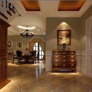 传统型客厅玄关设计