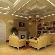 别墅酒柜设计图片