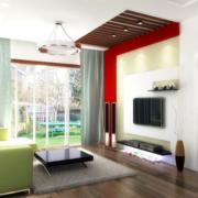 简约现代客厅空间