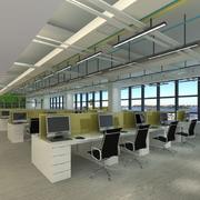 自然风格办公室设计图