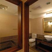 别墅美式卫生间设计