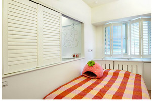 地中海小户型窗帘效果图