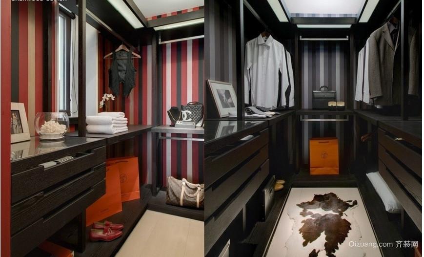 三室一厅欧式衣帽间装修效果图