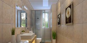 2015法式风格卫生间设计装修效果图欣赏