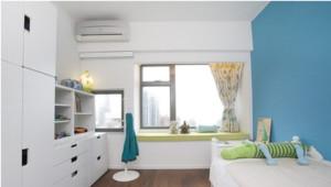 白色卧室飘窗图片
