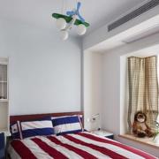 简洁现代卧室飘窗