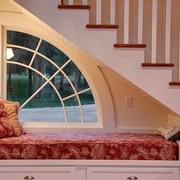 舒适自然阁楼楼梯