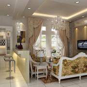 欧式风格酒柜设计图片