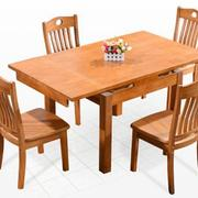 简朴型餐桌设计图片