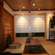 日式传统的卧室榻榻米
