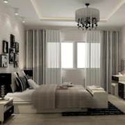 单身公寓卧室吊顶