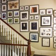 楼梯照片墙设计欣赏