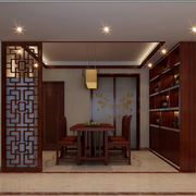 传统型酒柜装修设计