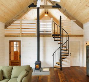 现代创意复式楼楼梯