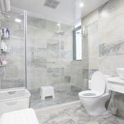 纯白色调瓷砖装修设计