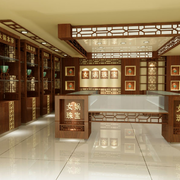 精致型珠宝展柜图片