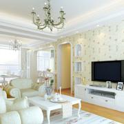 浅色调的客厅图片