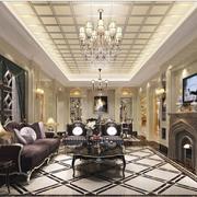 超豪华的客厅吊顶